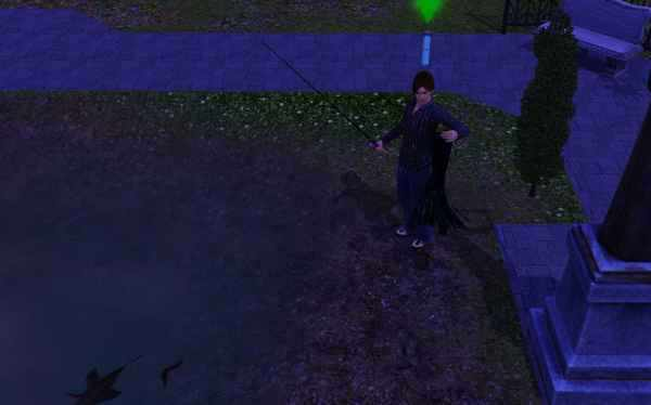 Catching a Death Fish in the Sims 3