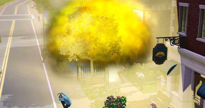 The Sims 3 Ambitions - A meteor crashes down in Sunset Valley
