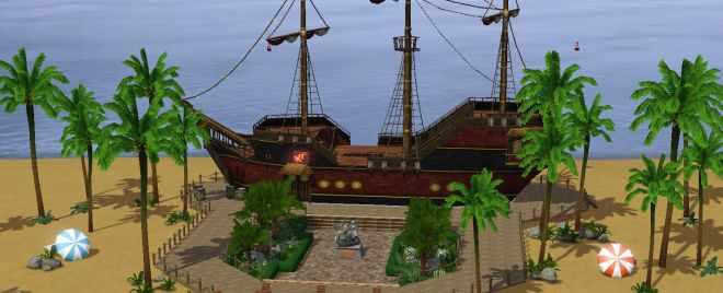 The Sims 3 Barnacle Bay Screenshot