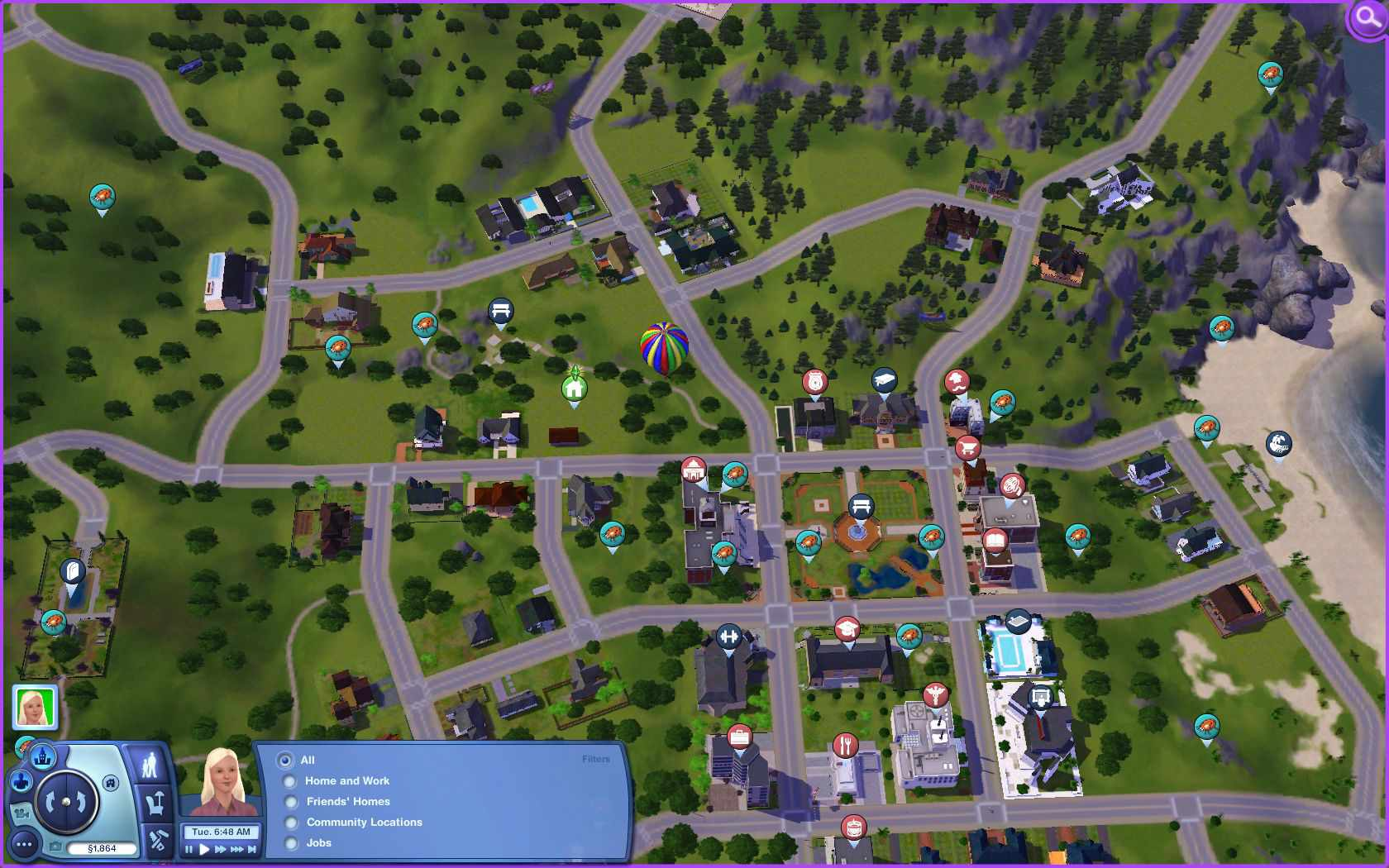 The Sims 3 Collecting Guide - Collection Helper Maps