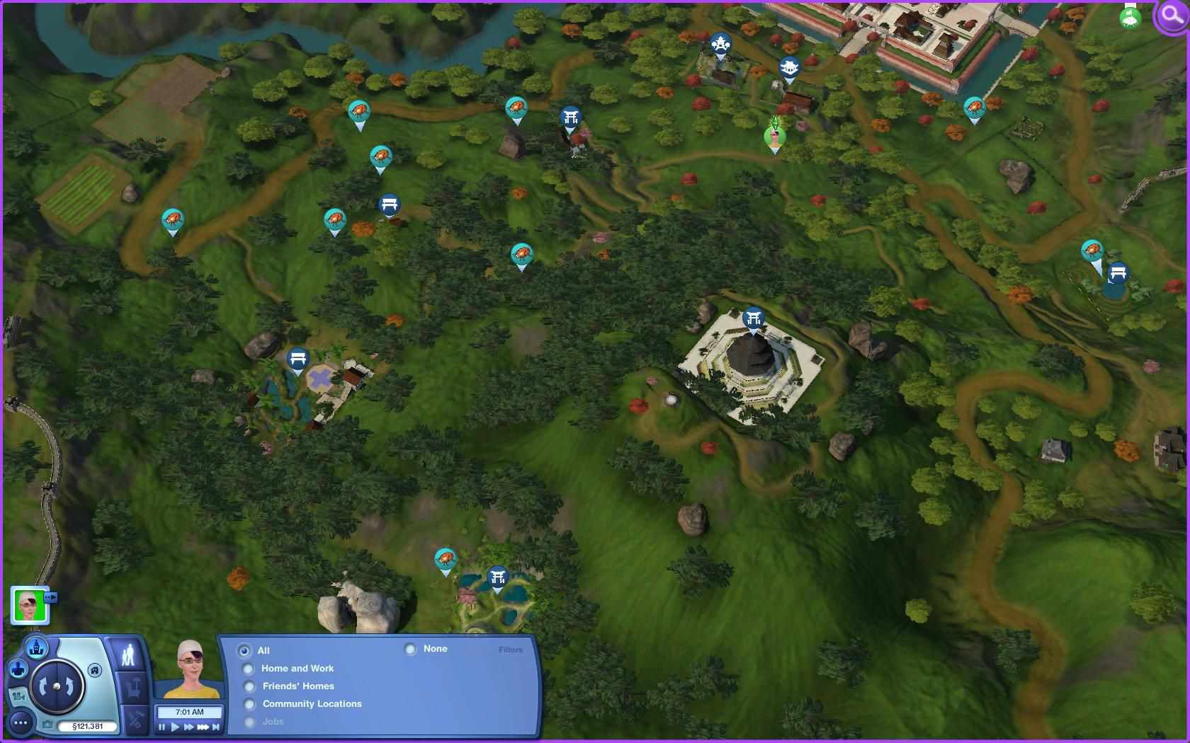The sims 3 world adventures collecting guide maps the sims 3 collecting guide gumiabroncs Choice Image