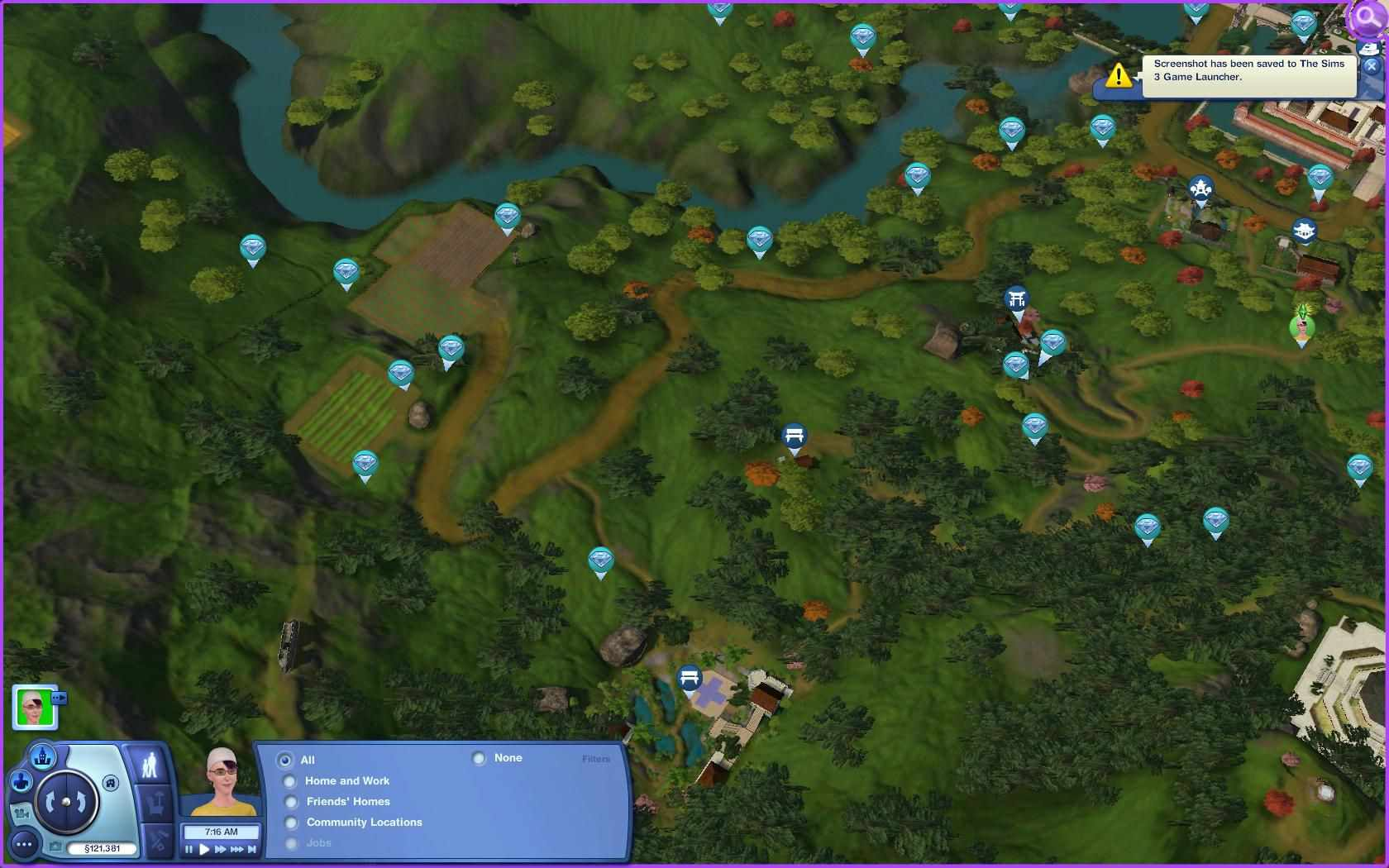 The Sims World Adventures Collecting Guide Maps - Blank world map sims 3