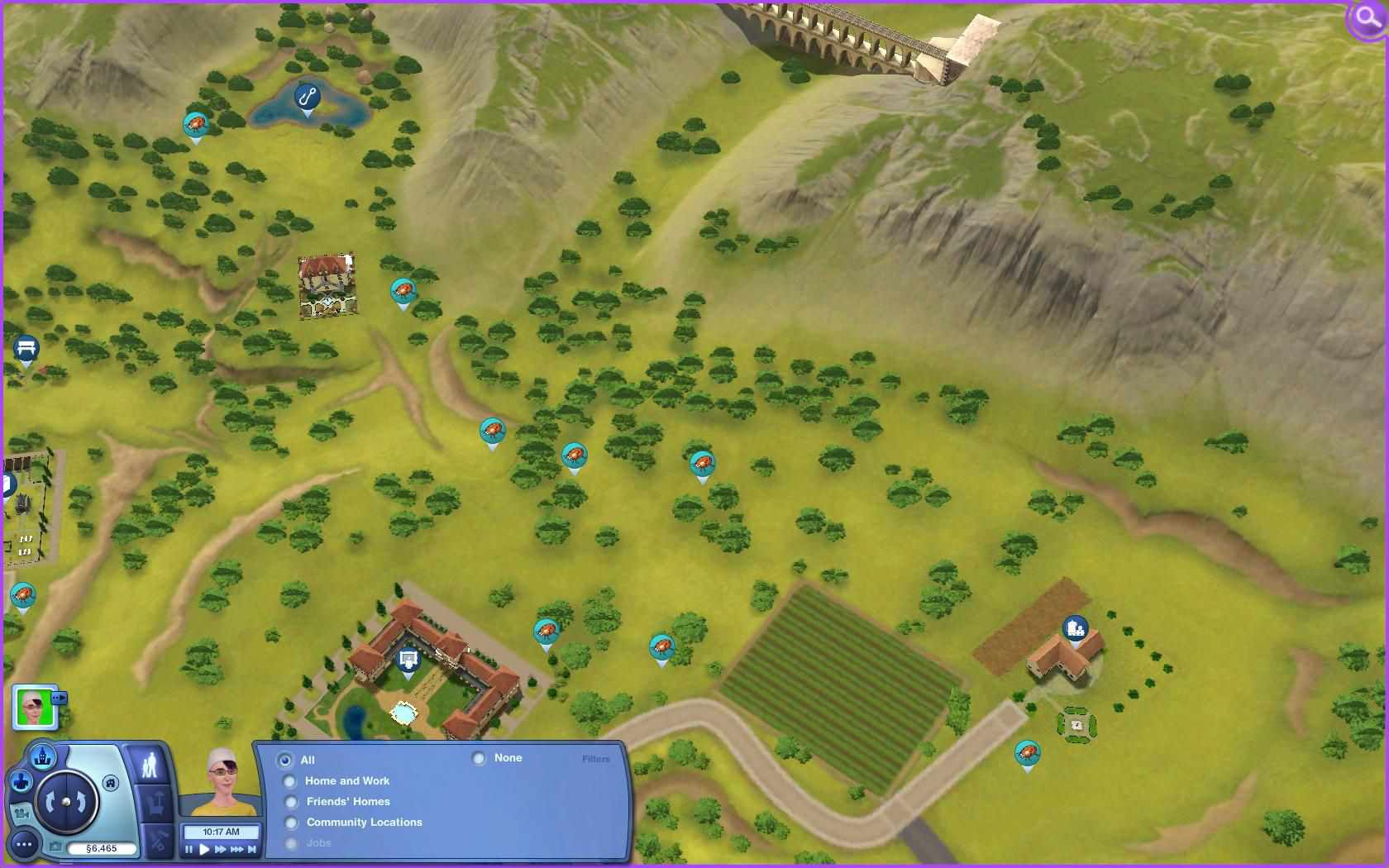 The sims 3 world adventures collecting guide maps sims 3 world adventures maps france insects gumiabroncs Gallery