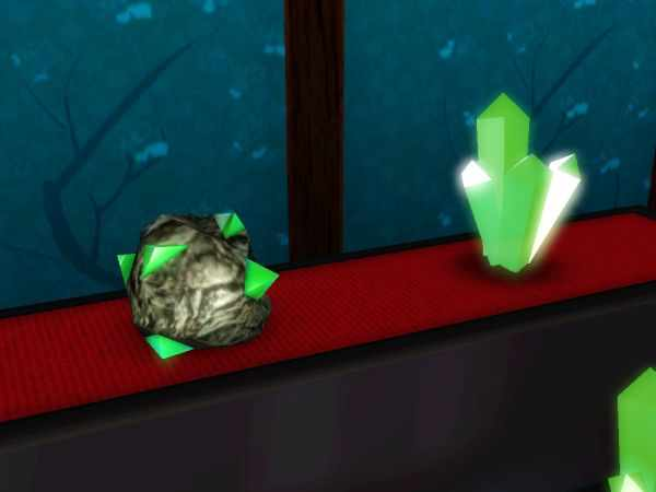 Tiberium in the Sims 3 World Adventures uncut and spire cut.