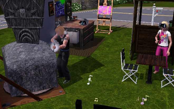 The Sims 3 Ambitions Descendant of da Vinci -