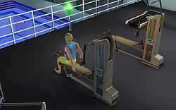 The Sims 3 Emperor of Evil Killing Spree: Getting stronger by raising athletic