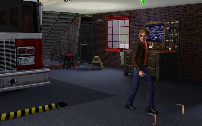Sims 3 Ambitions - Firefighter Super Hero Lifetime Wish