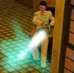 Busting a Ghost in the Sims 3 Ambitions