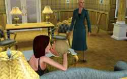 The Sims 3 Gold Digger: Getting caught... on purpose