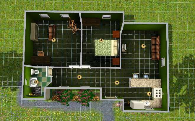 The sims 3 building guide learn to build houses the summerhouse 15154 malvernweather Image collections