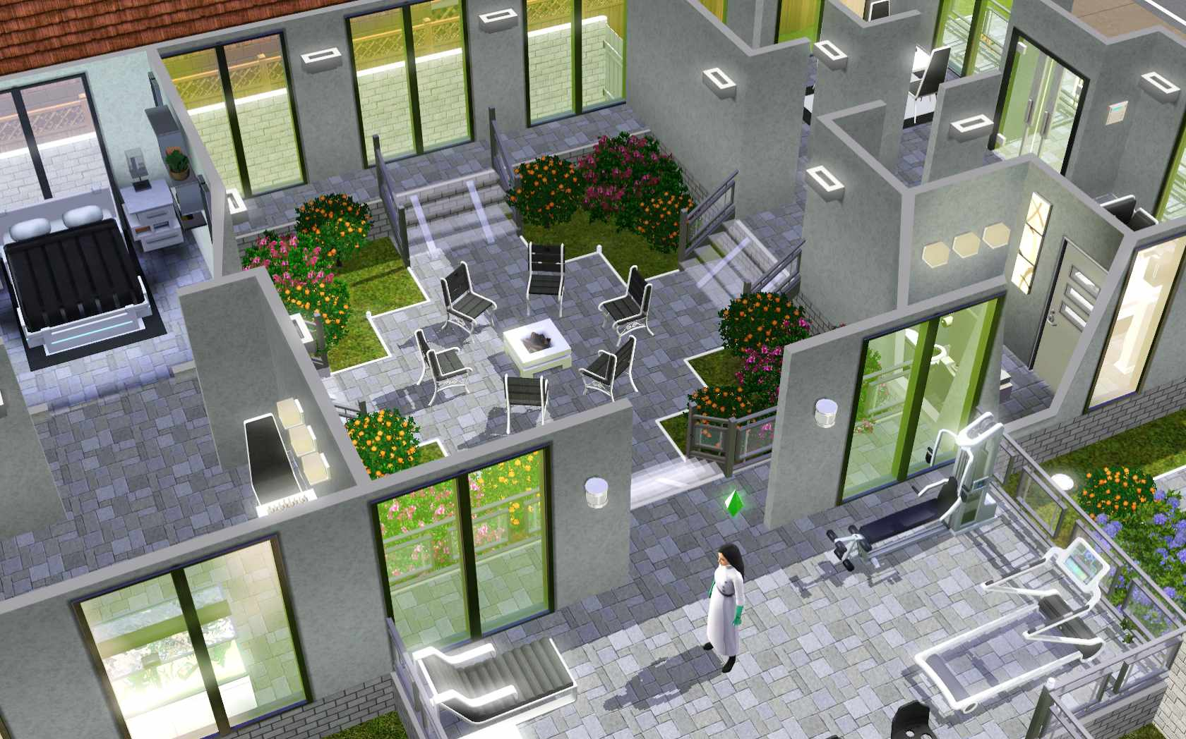 The Sims 3 Home Building and Design. The Sims 3  Room Build Ideas and Examples