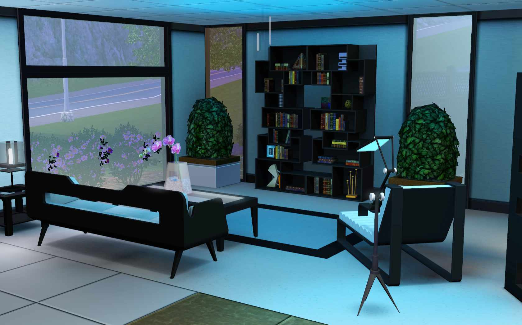 The Sims 3 Home Building and Design  The Trophy Room. The Sims 3  Room Build Ideas and Examples