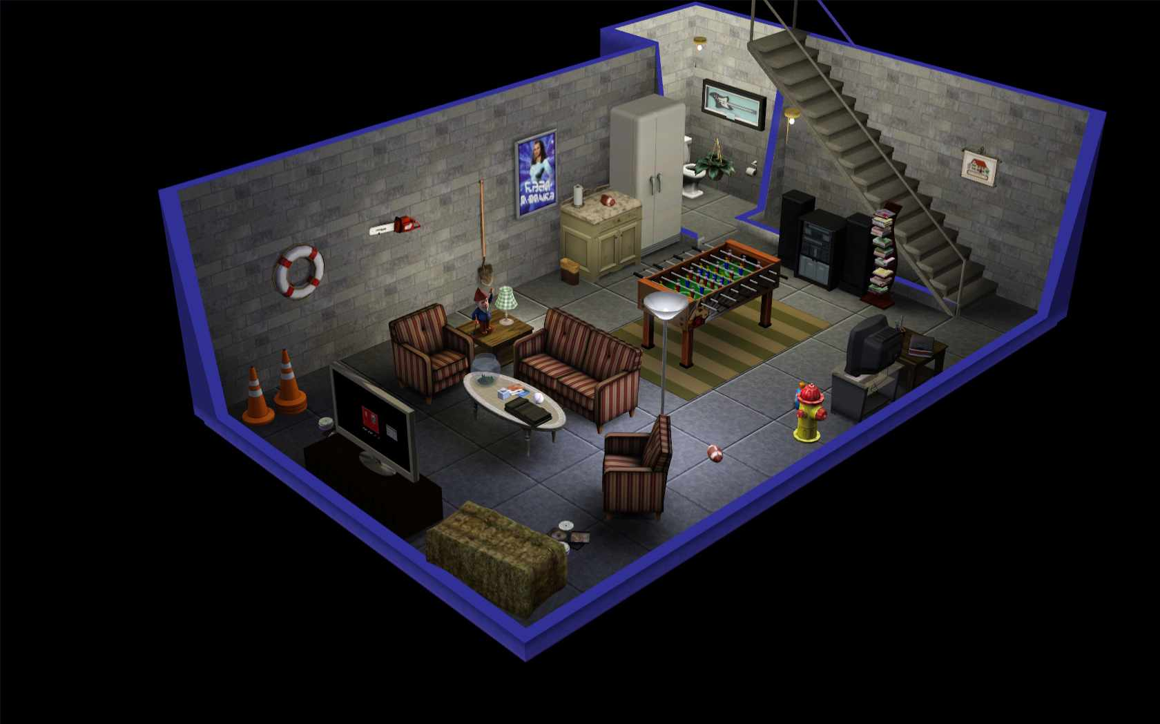 Living Room Ideas Sims 3 the sims 3: room build ideas and examples