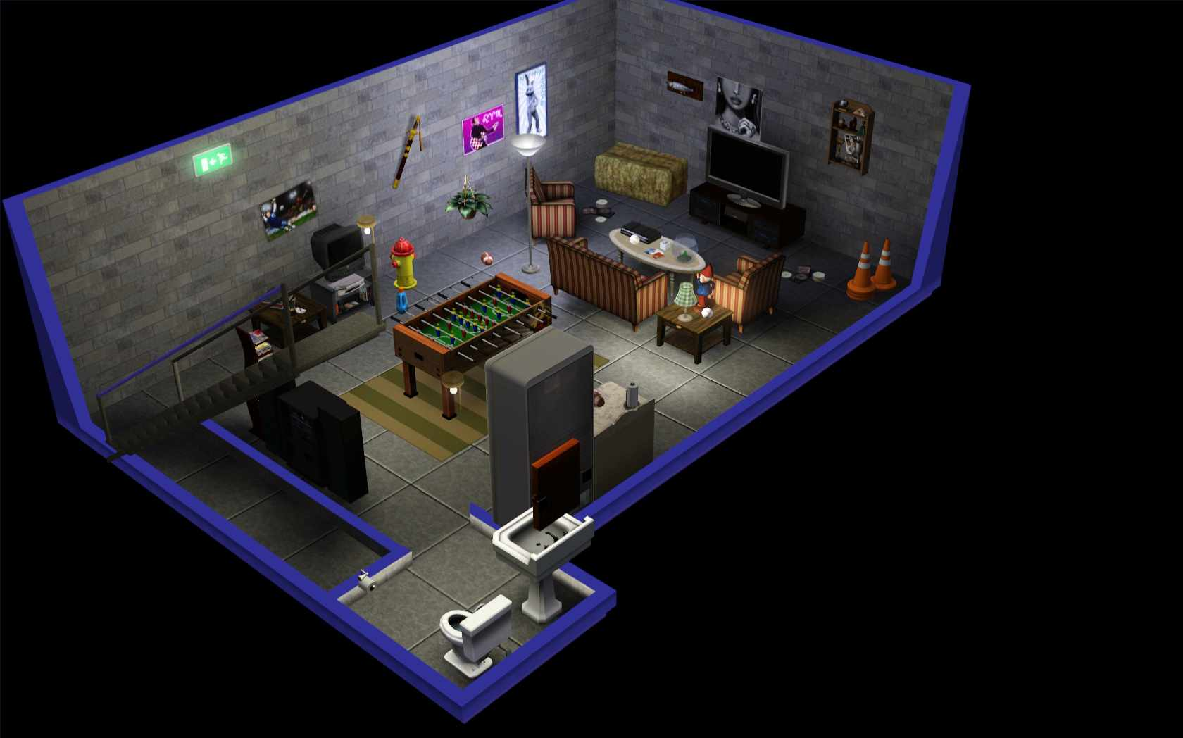 Sims best house layout