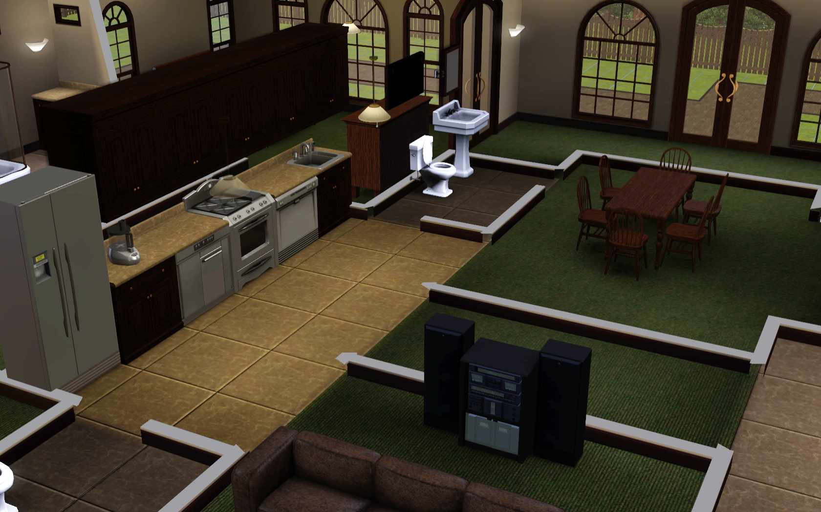 he Sims 3: oom Build Ideas and xamples - ^