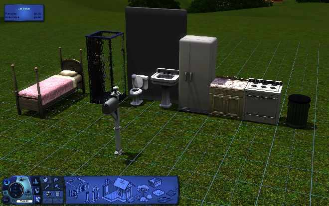 how to build your own house sims 3 xbox 360