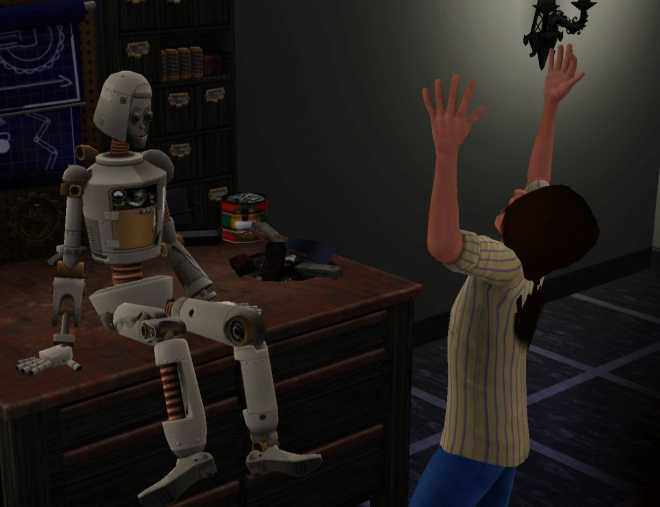 Sims 3 Ambitions Inventing - Creating a SimBot