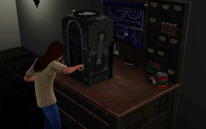 Sims 3 Ambitions Inventing - the Workbench
