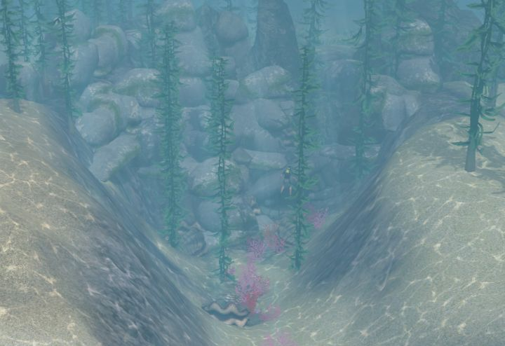 The Sims 3 Island Paradise - Explorable Cave at Davy Jones' Locker