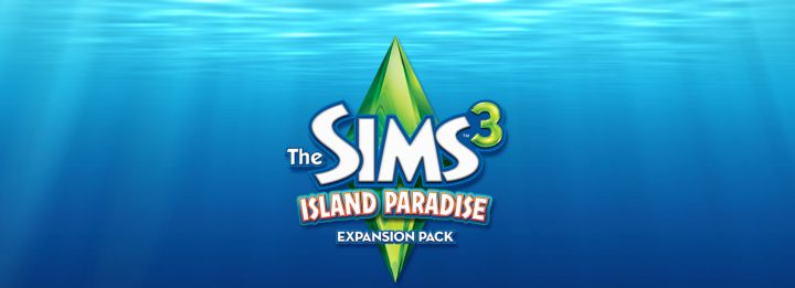 The Sims 3 Island Paradise - Game Logo. Purchase the game here.