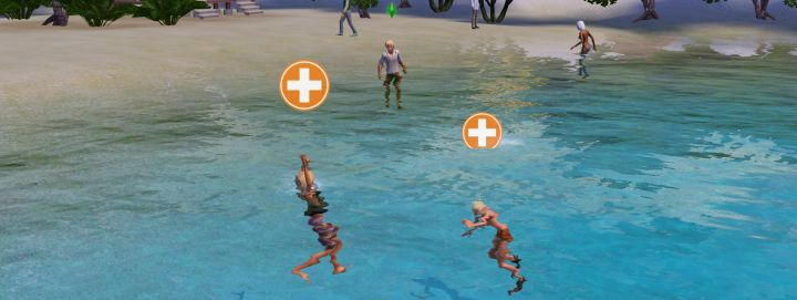 Sometimes more than one Sim will be drowning at once