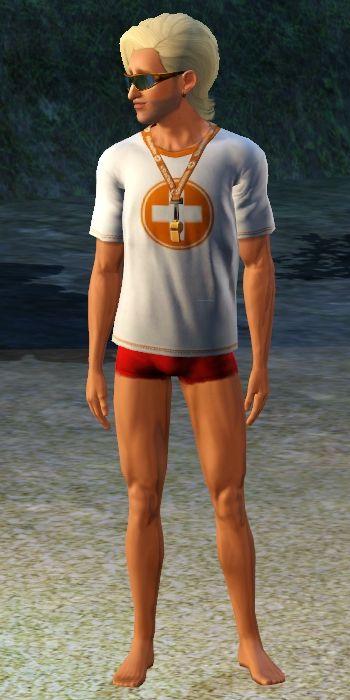 Sims 3 Island Paradise Lifeguard Uniform 1