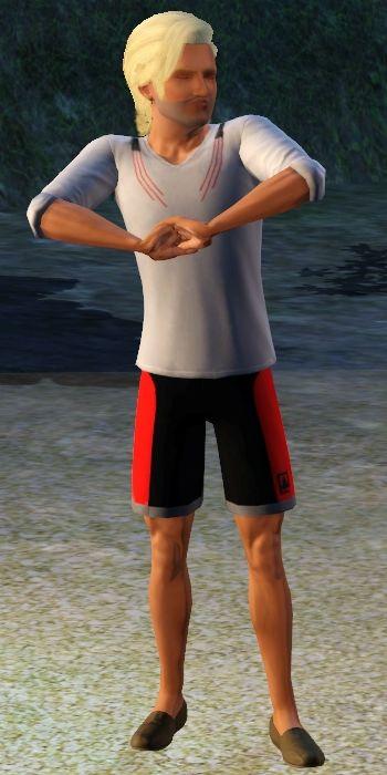 Sims 3 Island Paradise Lifeguard Uniform 2