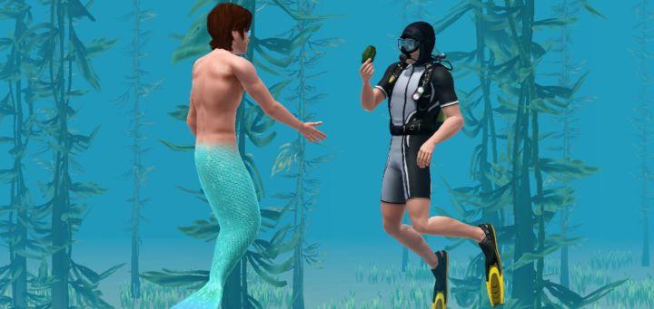 The Sims 3 Island Paradise Mermaids: Getting Mermadic Kelp to Transform into a Mermaid
