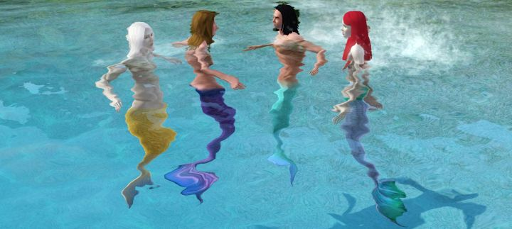 The Sims 3 Island Paradise Mermaids