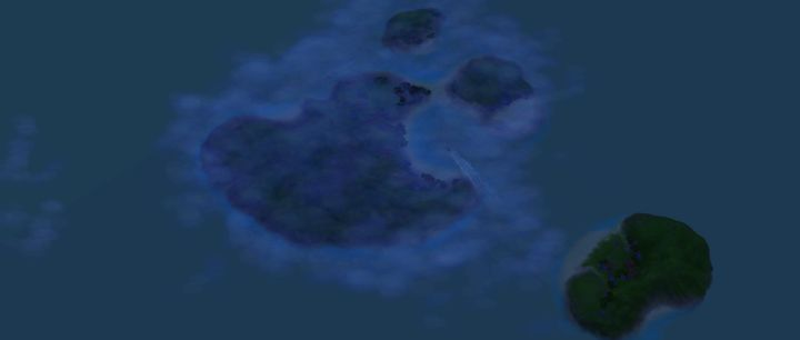 The Sims 3 Island Paradise Mermaids: A preview of the Mermaids' Secret Island