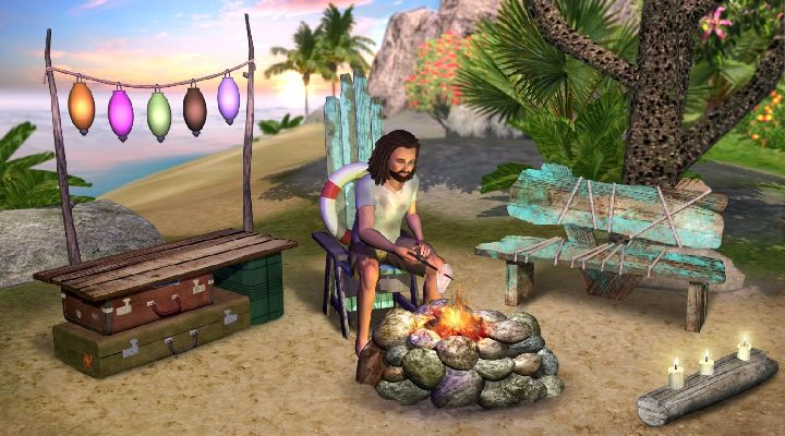 The sims 3 island paradise expansion pack.