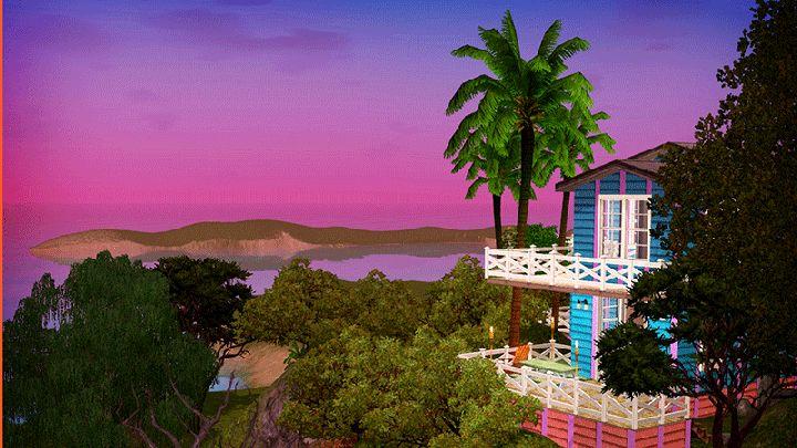 The Sims 3 Island Paradise - Isla Paradiso Sunset