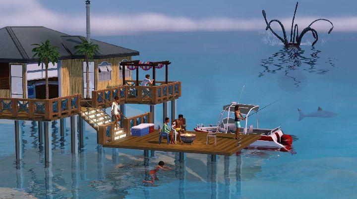 The Sims 3 Island Paradise - The Kraken Attacks