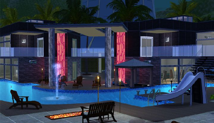 The Sims 3 Island Paradise - a luxury resort