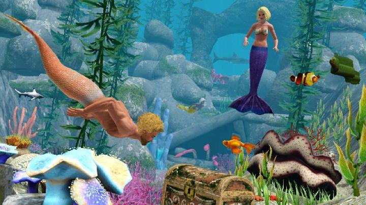 The Sims 3 Island Paradise - Mermaid