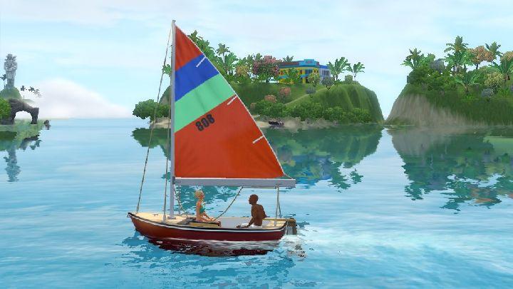 The Sims 3 Island Paradise - sailboat