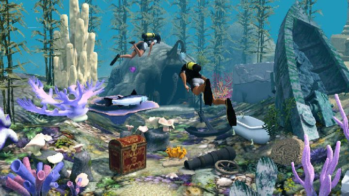 The Sims 3 Island Paradise - Diving for Treasure