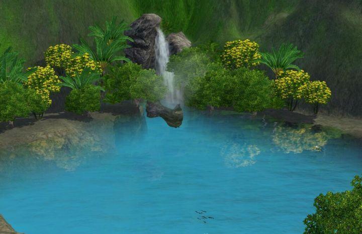 The Sims 3 Island Paradise - fishing spot
