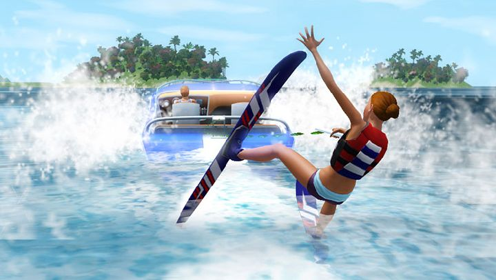 The Sims 3 Island Paradise - Water Skiing