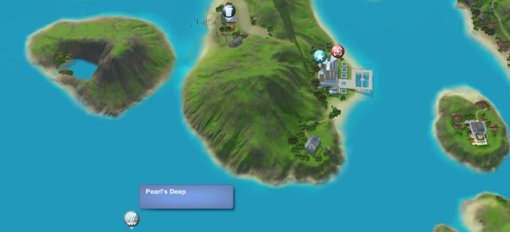 The Sims 3 Island Paradise - Pearl's DeepDiving Spot for the Scuba Diving Skill