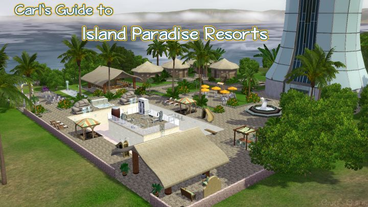 The Sims 3 Island Paradise Resorts