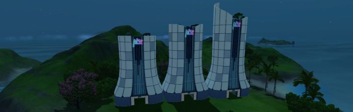 Resort Towers of all levels in Island Paradise