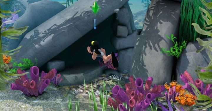 The Sims 3 Island Paradise Expansion - Explore caves to find collectibles