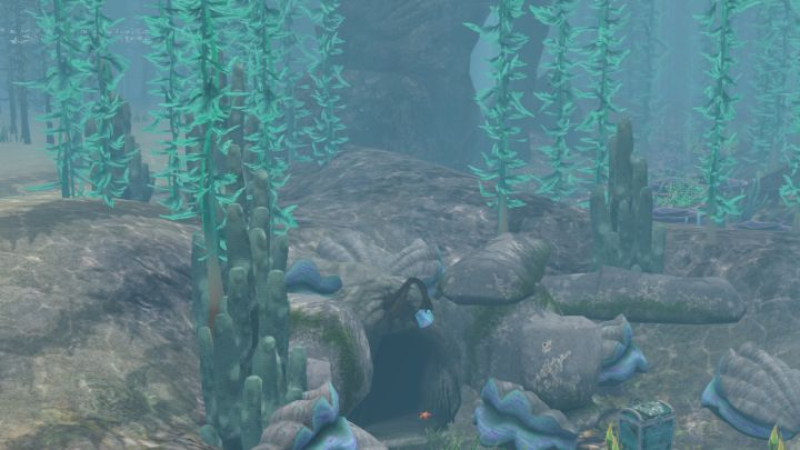 The Sims 3 Island Paradise - The Second Treasure Chest and Explorable Cave at Mermaid Grotto