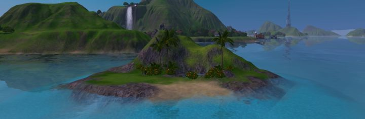 The Sims 3 Island Paradise Expansion: Uncharted Islands - Beryl Shoals