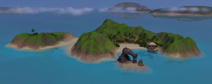 The Sims 3 Island Paradise Expansion: Uncharted Islands - Refuge Island