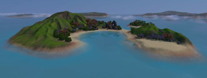 The Sims 3 Island Paradise Expansion: Uncharted Islands - Mermaid's Secret Island