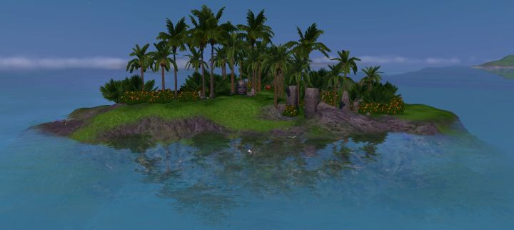 The Sims 3 Island Paradise Expansion: Uncharted Islands - Plumbob Island