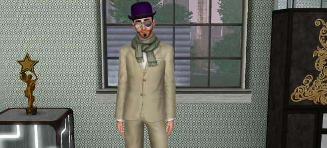 The Sims 3 Late Night Distinguished Director Uniform