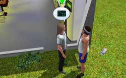 With the Logic skill, and after completing the celestial explorer challenge, Sims can talk to other Sims about their discoveries. This is a good way to make friends.